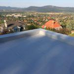 PVC szigetelés - attika fal