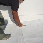 PVC szigetelés ellenörzése varratvizsgálóval