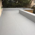 PVC vízszigetelés - terasz