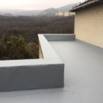 PVC vízszigetelés - terasz felujitása