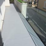 PVC vízszigetelés - terasz felújitása